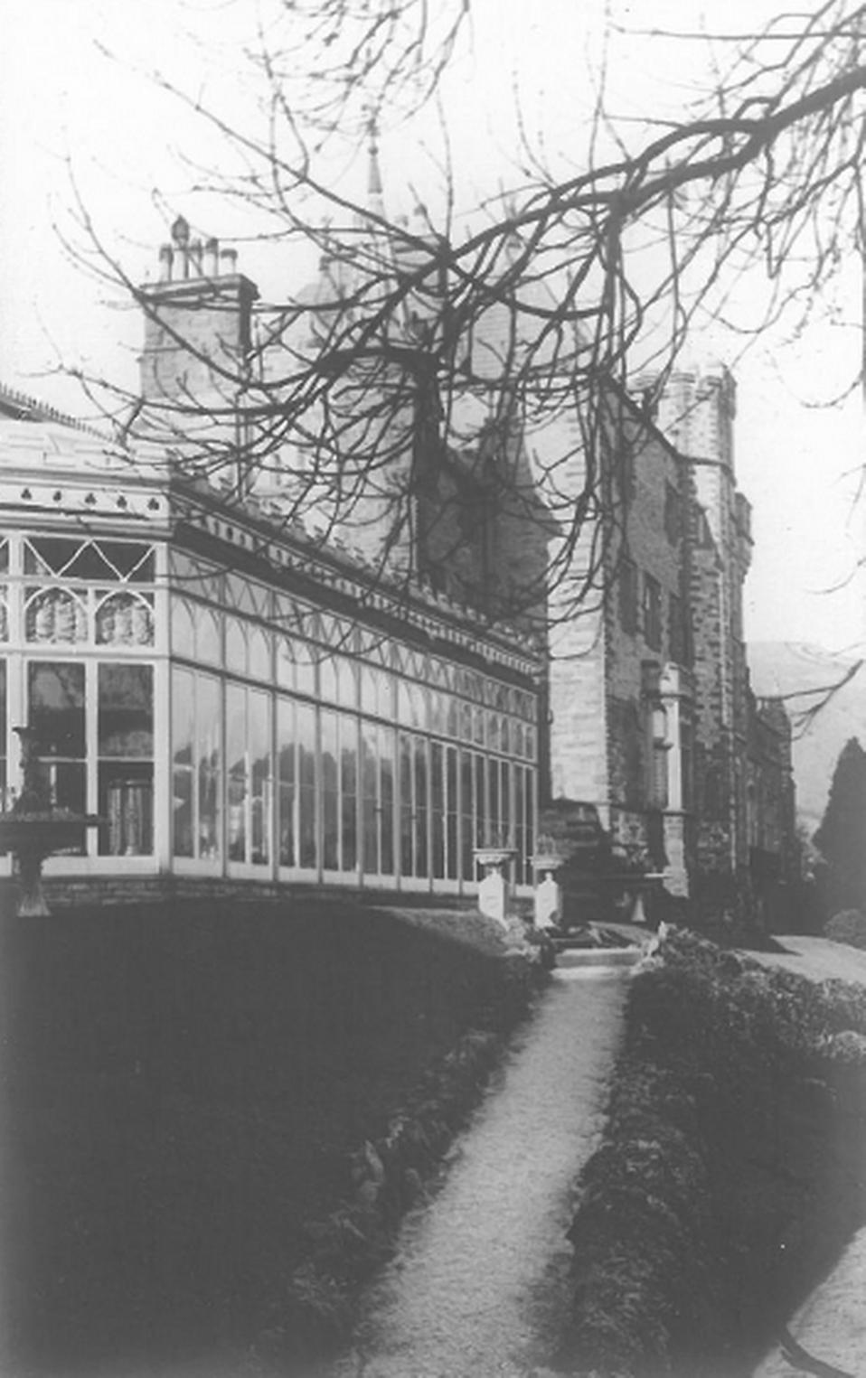 The Conservatory at Craig y Nos Castle before the Castle became a TB hospital