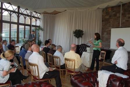Conference Venue Swansea - Conservatory Conference set-up