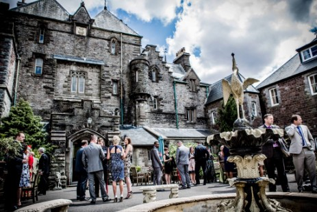 Party at Craig y Nos Castle - photo by Sian Davies Photography