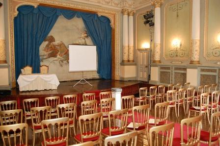 Conference Venue Wales - Theatre as Conference set-up