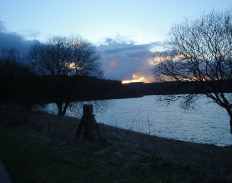 Brecon Beacons Hotels - Usk Reservoir walk