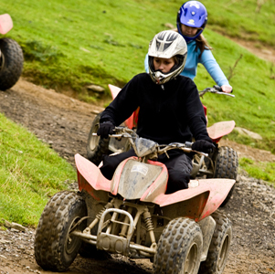 Brecon Beacons Hotels Craig y Nos Castle - quad-biking for groups