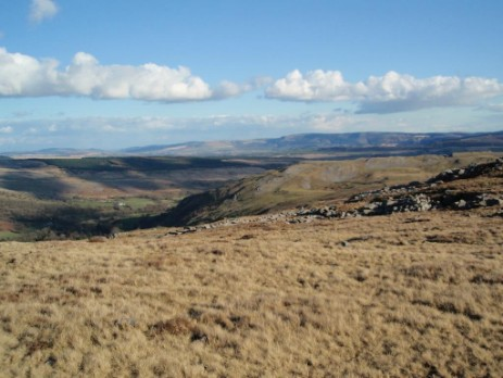 Brecon Beacons Craig y Nos Mountain Walk