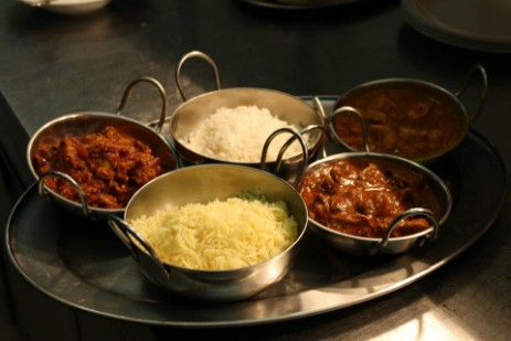 Brecon Beacons Hotel Craig y Nos Castle Evening Bar Meals homemade curry