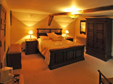 Brecon Beacons Self-Catering Holiday Cottage Craig y Nos farmhouse second bedroom