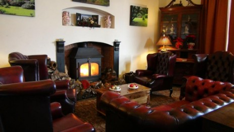 Brecon Beacons Hotels Nicolini Reception Lounge at Craig y Nos Castle