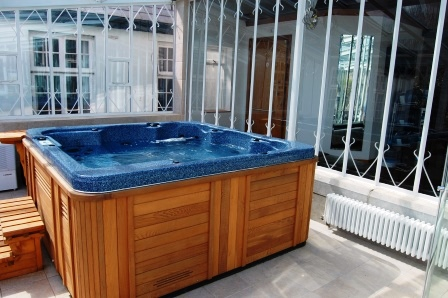 The hot tub I ought at Builth Wells show that sparked off a 150k spend on a new sports room